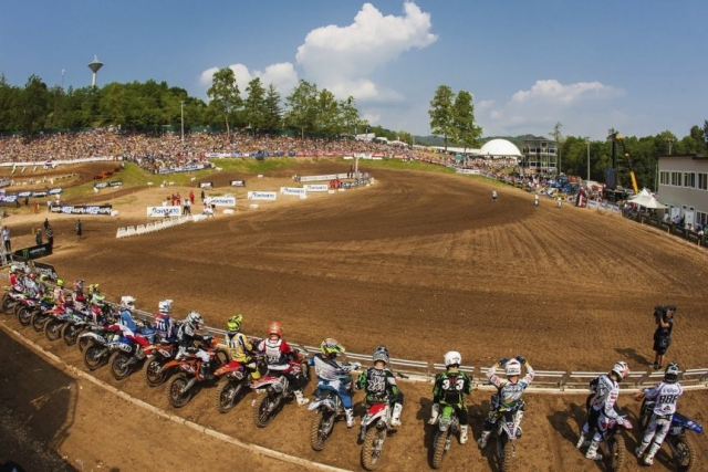 Start zur MX3 WM in Maggiora 2013